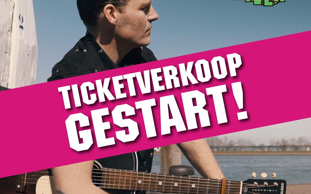 Ticketverkoop Back to the Rivers van start!